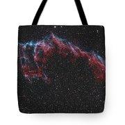 Ngc 6992, The Eastern Veil Nebula Tote Bag