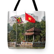 Ngoc Son Temple  01 Tote Bag