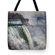 Niagara American Falls 2 Tote Bag