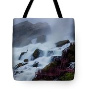 Niagara Falls At A Different Point Of View Tote Bag