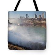 Niagara Falls Panorama Tote Bag