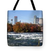 Niagara Falls Skyline From New York Tote Bag