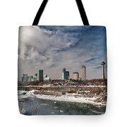 Niagara Falls The City 4534 Tote Bag
