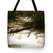 Niagra River Just Before The Falls Tote Bag