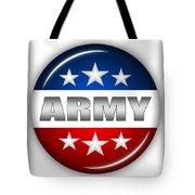 Nice Army Shield Tote Bag by Pamela Johnson