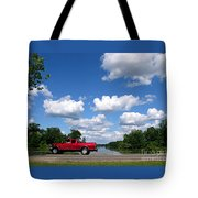 Nice Day For A Drive Tote Bag