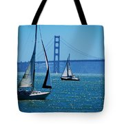Nice Day On The Bay Tote Bag