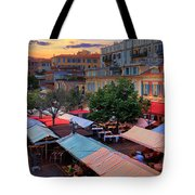 Nice Flower Market Tote Bag