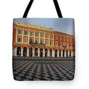 Nice France - The Cheerful Colors Of Place Massena Tote Bag