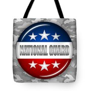 Nice National Guard Shield 2 Tote Bag by Pamela Johnson