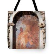 Niche Fresco In Real Alcazar Of Seville Tote Bag