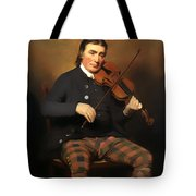 Niel Gow - Violinist And Composer Tote Bag