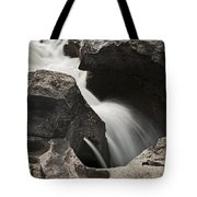 Nigel Creek Waterfall Detail Tote Bag