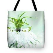 Nigella Damascena 'double White'  Tote Bag