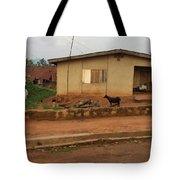 Nigerian House Tote Bag