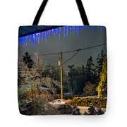 Night After The Ice Storm Tote Bag
