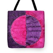 Night And Day Original Painting Tote Bag
