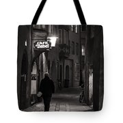 Night Appointment Tote Bag