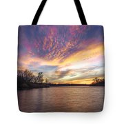 Night Approaches Tote Bag