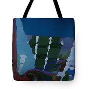 Night At Granville Island Tote Bag