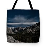 Night At Olmstead Point Tote Bag by Cat Connor