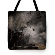 Night Battle Tote Bag