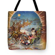 Night Before Christmas Tote Bag