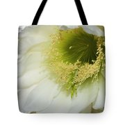 Night Blooming Cereus Cactus Tote Bag
