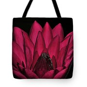 Night Blooming Lily 2 Of 2 Tote Bag