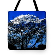 Night Blues Tote Bag