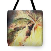Night Breeze Through Palms Tote Bag