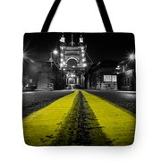 Night Bridge Tote Bag by Keith Allen