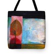 Night Comes Tote Bag
