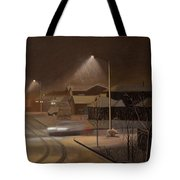 Night Drive Tote Bag