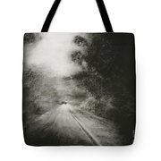 Night Driving On The Bells Line Of Road Tote Bag