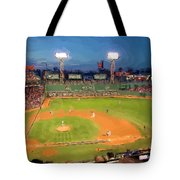 Night Fenway Pop Tote Bag
