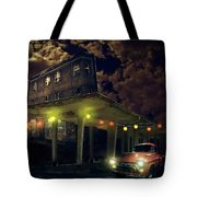Night Fill Tote Bag