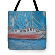 Night Fishing Tote Bag