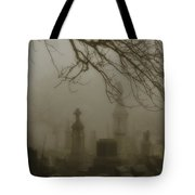 Dark Rolling Night Fog Tote Bag