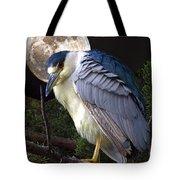 Night Heron Tote Bag