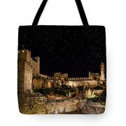 Night In The Old City Tote Bag