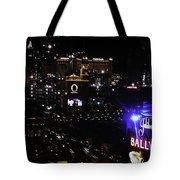 Night In Vegas 2008 Tote Bag