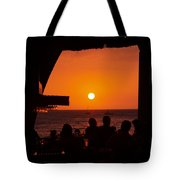 Night Life In Kona Tote Bag