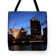 Night Lights  Tote Bag