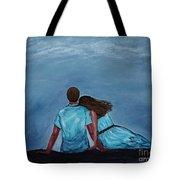 Night Love Tote Bag