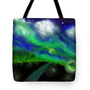 Night Of The Fireflies Tote Bag