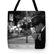 Night Of Thoughts  Tote Bag