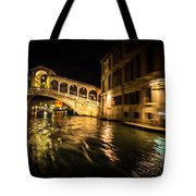 Night On The Grand Canal Tote Bag