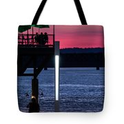 Night Out With Friends Tote Bag