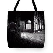 Night People Main Street Tote Bag by Bob Orsillo